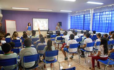 OFICINA DE EDUCAÇÃO PATRIMONIAL – AMBIENTE ESCOLAR